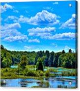 Kayak On The Moose River Acrylic Print
