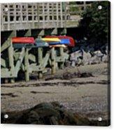 Kayak Rack Acrylic Print