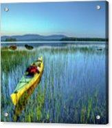 Kayak Sunrise Acrylic Print