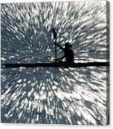 Kayak Zoom Acrylic Print