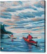 Kayakers Acrylic Print