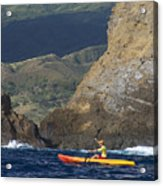 Kayaking In Molokai Acrylic Print