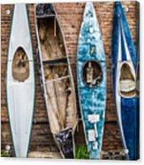 Kayaks 4 Acrylic Print