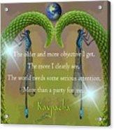 Kaypacha - December 28, 2016 Acrylic Print