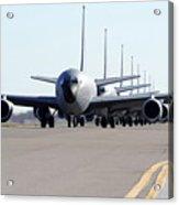 Kc-135 Stratotankers In Lephant Walk Acrylic Print