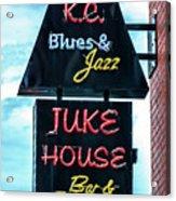 Kc Blues Acrylic Print