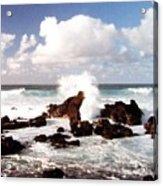 Keanae Peninsula Acrylic Print