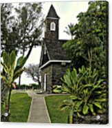 Keawala'i Congregational Church Acrylic Print