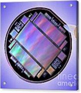 Keck Telescope Ccd Imager Acrylic Print