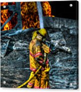 Keep Fire In Your Life No 8 Acrylic Print