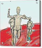 Keep On Running, Athletes Acrylic Print