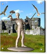 Keeper Of The Castle 4 Acrylic Print