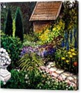 Keeper Of The Garden Acrylic Print