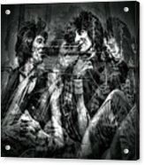 Keith And Ronnie 2 Acrylic Print