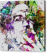Keith Richards Acrylic Print by Naxart Studio