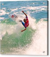 Kelly Slater  Us Open Of Surfing 2012     7 Acrylic Print