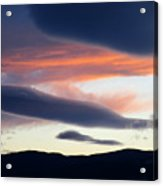Kelowna Sunset 2 Acrylic Print