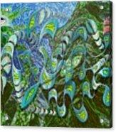 Kelp Dragon Acrylic Print