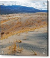 Kelso Dunes Winter Acrylic Print