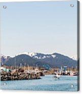 Seward Alaska Kenia Fjord Port Acrylic Print
