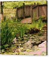 Kenilworth Footbridge Acrylic Print
