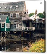 Kennebunkport At Low Tide Acrylic Print