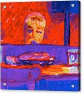 Kennebunkport Inn Piano Singer Acrylic Print
