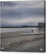 Kennebunkport Maine And Colonial Hotel Acrylic Print