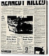 Kennedy Assassination, 1963 Acrylic Print