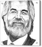 Kenny Rogers Acrylic Print