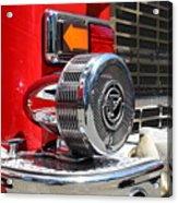 Kensington Fire District Fire Engine Siren . 7d15879 Acrylic Print