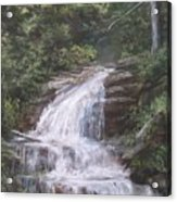 Kent Falls Acrylic Print by Jack Skinner
