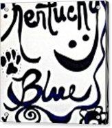 Kentucky Blue Acrylic Print