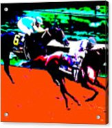 Kentucky Derby Acrylic Print