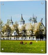 Revised Kentucky Horse Barn Hotel 2 Acrylic Print