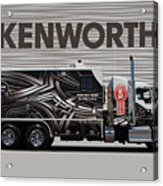 Kenworth Proudly Made In The Usa Acrylic Print