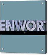 Kenworth Semi Truck Logo Acrylic Print