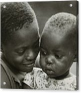 Kenya Sisters  Acrylic Print