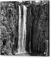 Kenya: Thomsons Falls Acrylic Print
