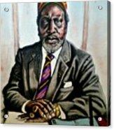 Kenyatta  Acrylic Print