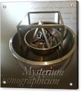 Kepler's Cosmological Model Acrylic Print