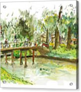 Kerekbrugje Acrylic Print