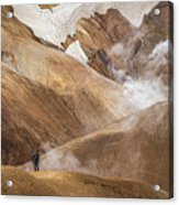 Kerlingafjoll Mountain Acrylic Print