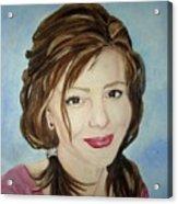 Kerra Lindsey  Self Portrait Acrylic Print