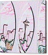 Kerry Needle 2 Acrylic Print