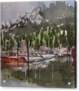 Ketchican Marina Acrylic Print
