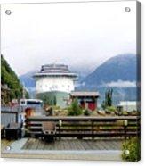 Ketchikan Alaska  Acrylic Print by Mindy Newman