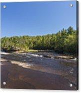 Kettle River Big Spring Falls 1 Acrylic Print