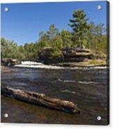 Kettle River Big Spring Falls 6 Acrylic Print