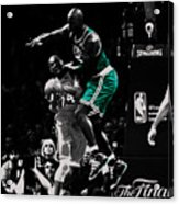Kevin Garnett Not In Here Acrylic Print